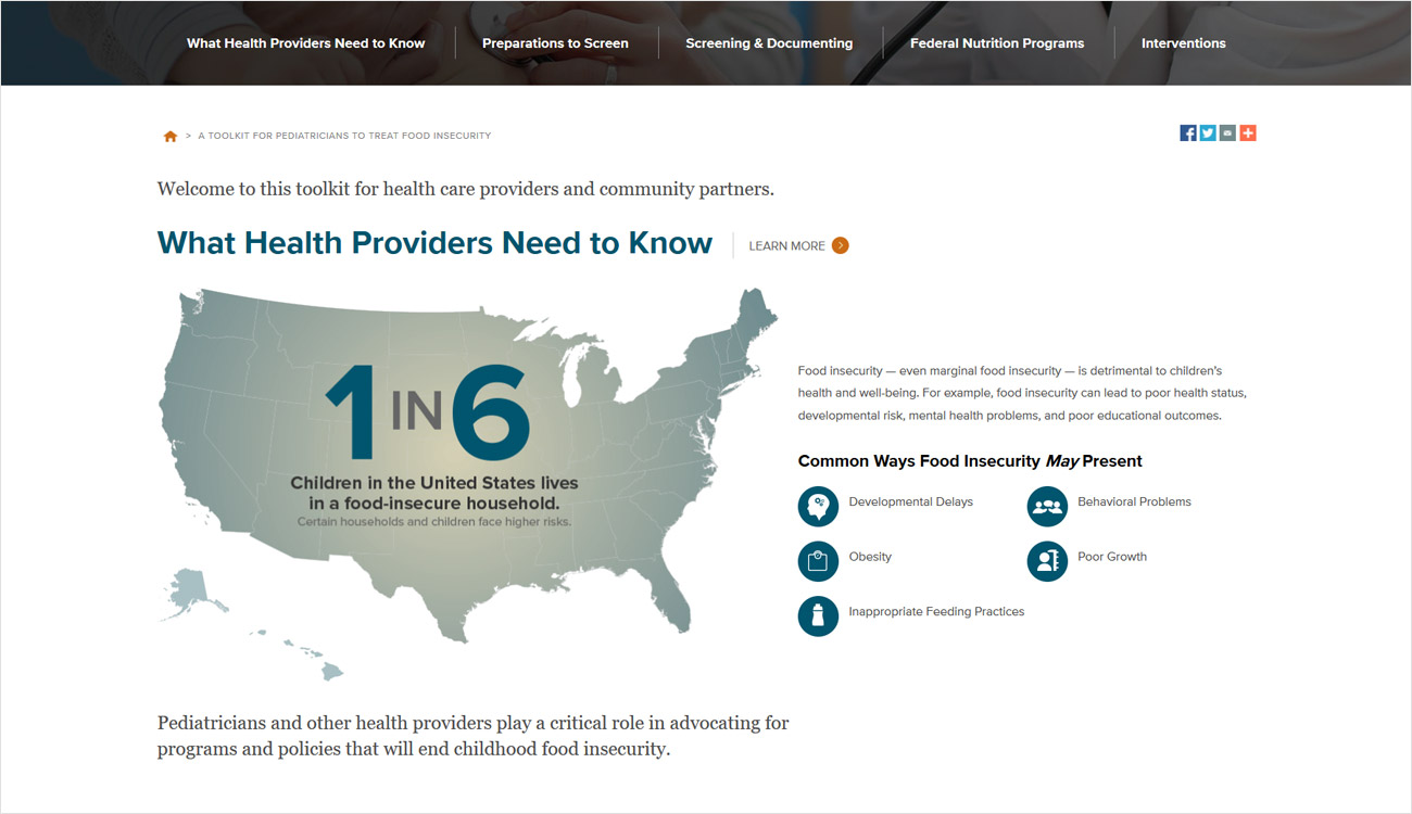 Interactive toolkit - What Providers Need to Know