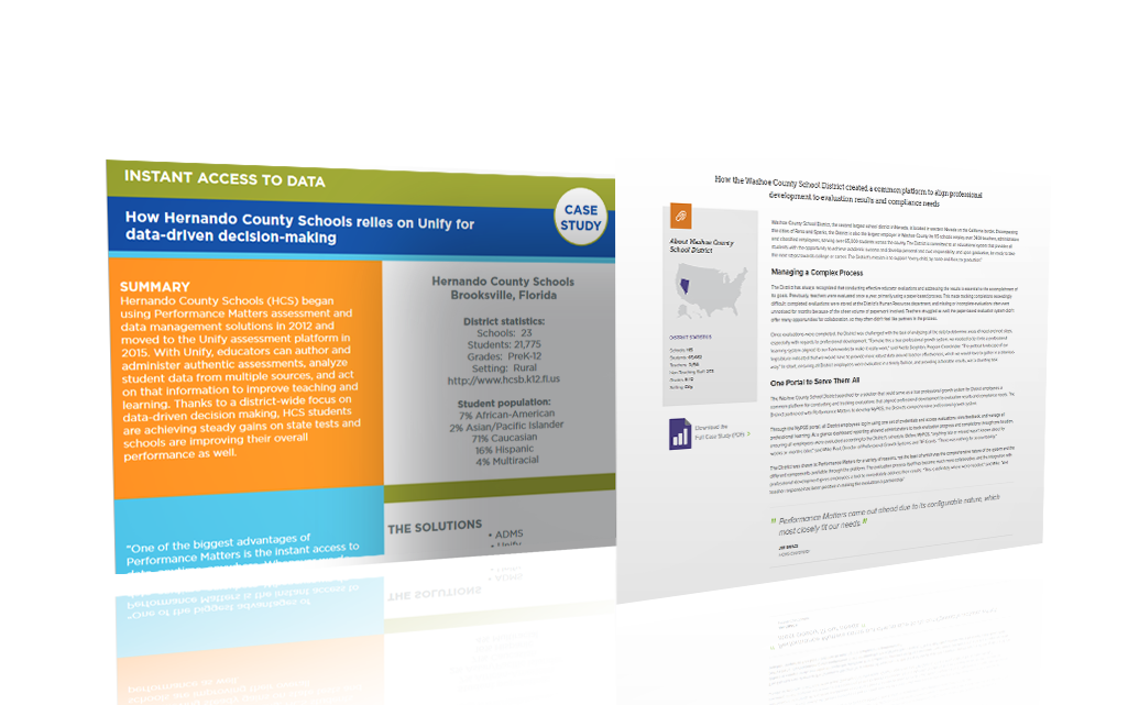 before and after performance matters case study