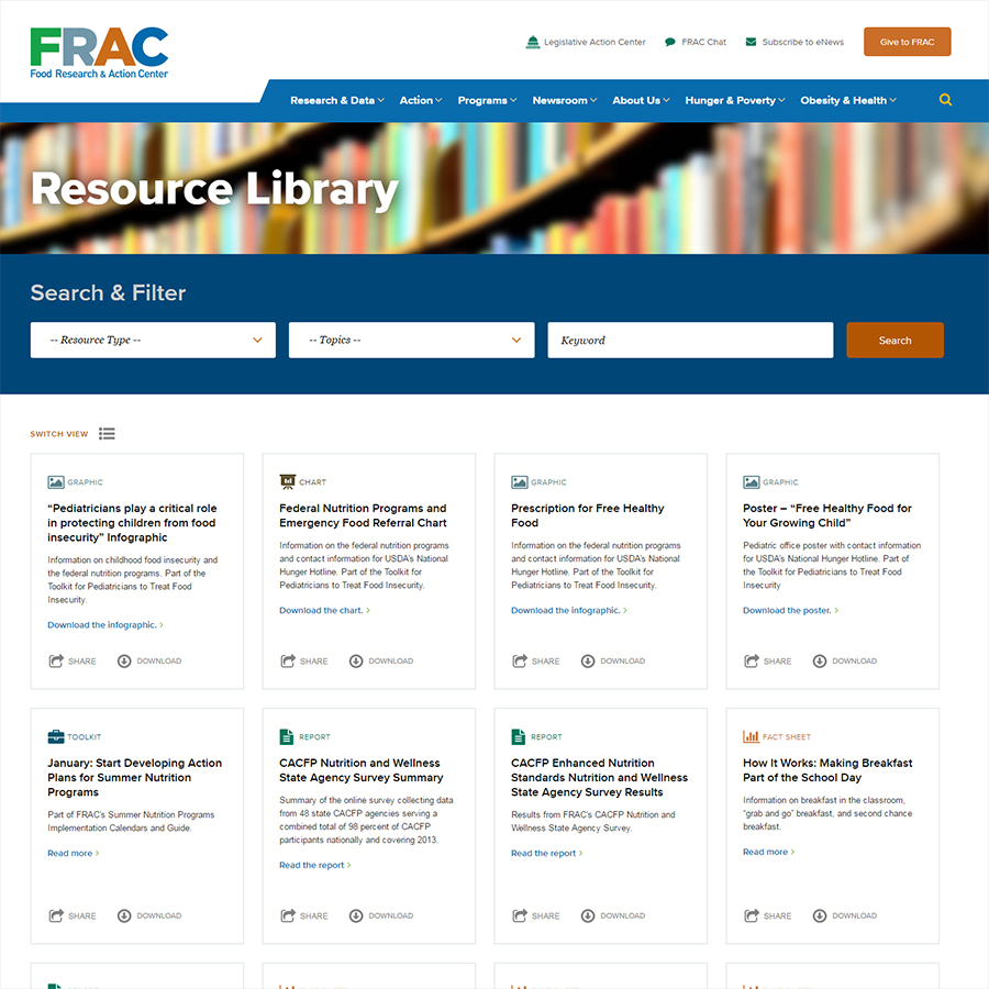 FRAC Resource Library