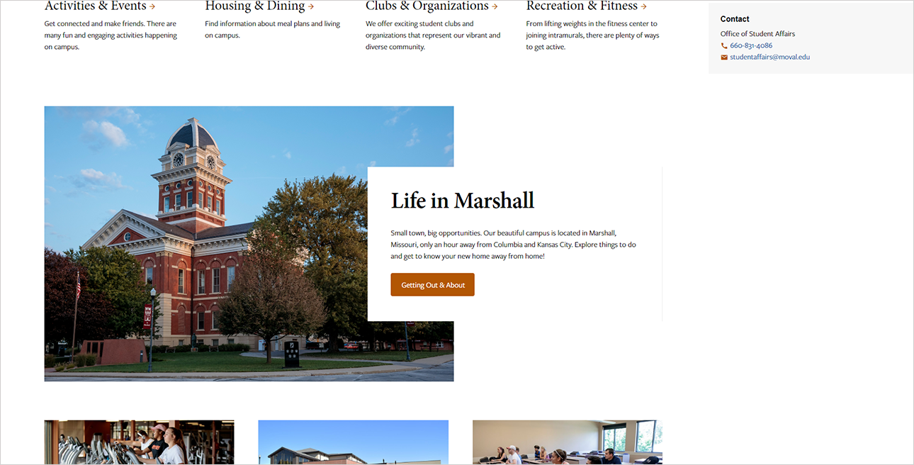 Life in Marshall screenshot